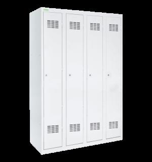 LOCKER H 4 | 4-dverová šatníková skriňa s dlhými dverami