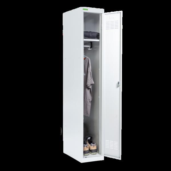 LOCKER H 1 | 1-dverová šatníková skriňa s dlhými dverami