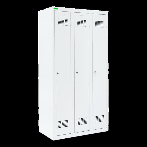 LOCKER H 3 | 3-dverová šatníková skriňa s dlhými dverami