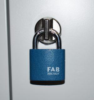 LOCK PAD ABAB EXTRA 180 | Bezpečnostný uzáver na visiaci zámok