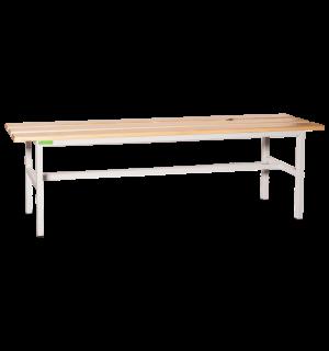 BRIDGE LL 1500   Šatníková lavica s dĺžkou 1500 mm