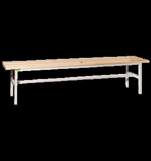BRIDGE LL 2000   Šatníková lavica s dĺžkou 2000 mm