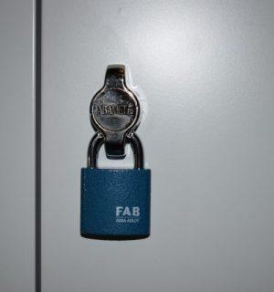 LOCK PAD ABAB 90R | Uzáver na visiaci zámok