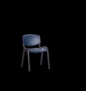 EATSEAT BA BLUE | Jedálenská stolička modrá