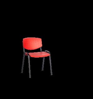 EATSEAT BA RED | Jedálenská stolička červená