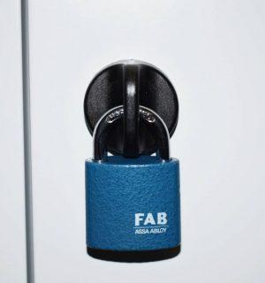 LOCK PAD ABAB STRONG 180 | Ergonomicky bezpečnostný uzáver na visiaci zámok