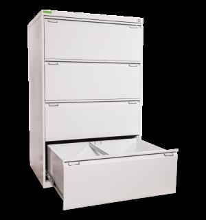 FILECAB K 4 DOUBLE | Dvojitá kartotéková skriňa so 4 zásuvkami