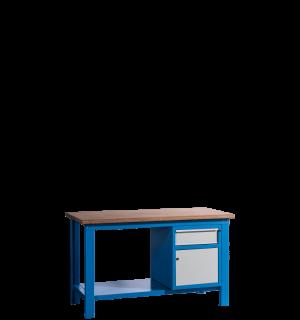 HWB MB 1500 CD | Pracovný stôl so skrinkou a zásuvkou
