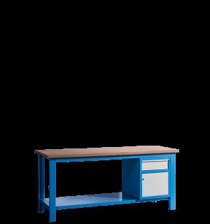 HWB MB 2000 CD | Pracovný stôl so skrinkou a so zásuvkou
