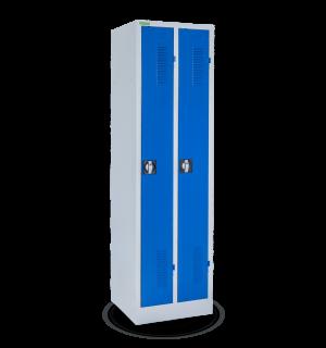 LOCKER H 2 250 5005 | 2-dverová úzka šatníková skriňa s dlhými dverami