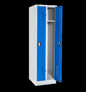 LOCKER H 2 250 | 2-dverová úzka šatníková skriňa s dlhými dverami