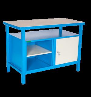 LWB GE 1200 SC | Pracovný stôl s poličkou a skrinkou