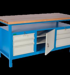 LWB GE 1700  DCD   Pracovný stôl so skrinkou a 6 zasuvkami