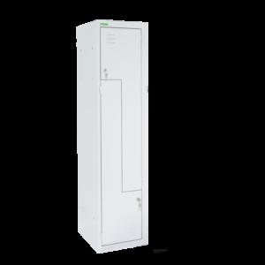 LOCKER H Z2 400   2-dverová šatníková skriňa so Z-kovými dverami