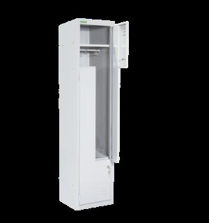 LOCKER H Z2 400 | 2-dverová šatníková skriňa so Z-kovými dverami