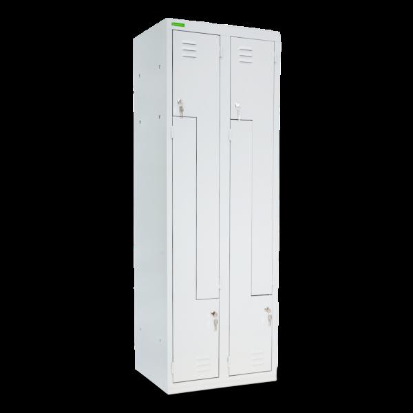 LOCKER H Z4 300   4-türiger Umkleidespind mit Z-Türen