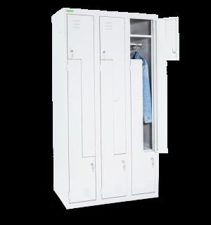 LOCKER H Z6 300 | 6-dverová šatníková skriňa so Z-kovými dverami