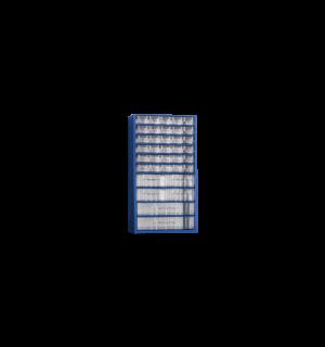 WSORTER MB 36   Nástenná skrinka s 30+4+2 plastovými zásuvkami