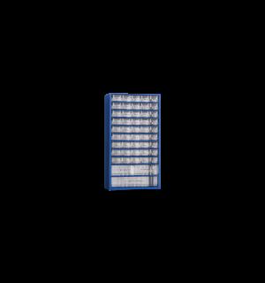 WSORTER MB 48   Nástenná skrinka s 48+2+1 plastovými zásuvkami