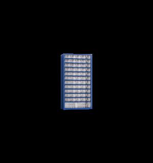 WSORTER MB 57   Nástenná skrinka s 55+2 plastovými zásuvkami