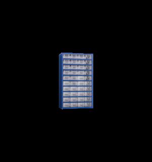 WSORTER MB 40   Nástenná skrinka s 40 plastovými zásuvkami