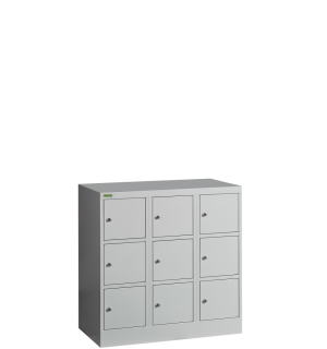 VBOX MB 3/9 MINI | 9-priehradková nízka skriňa na úschovu cenností