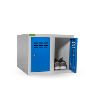SHOEBOX H 2 250 5005 | 2-dverová skriňa na obuv so šírkou priehradky 250 mm