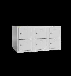 SHOEBOX H 3/6 | 3+3-dverová skriňa na obuv so šírkou priehradky 300 mm