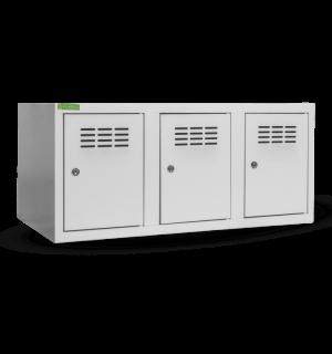 SHOEBOX H 3 | 3-dverová skriňa na obuv so šírkou priehradky 300 mm