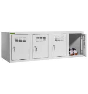 SHOEBOX H4 | 4-dverová skriňa na obuv so šírkou priehradky 300 mm