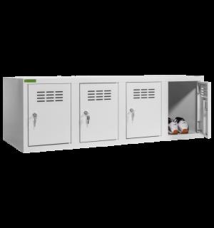 SHOEBOX H 4 | 4-dverová skriňa na obuv so šírkou priehradky 300 mm
