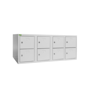 SHOEBOX H 4/8 | 4+4-dverová skriňa na obuv so šírkou priehradky 300 mm