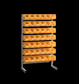 SORTISTAND FIX MB 42   Pevný stojan s plastovými boxmi