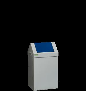SELECTBIN MB 70L B | Kôš na separovaný odpad s modrým vekom