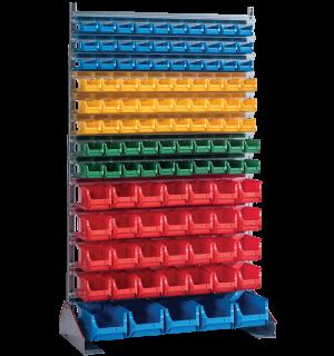 SORTISTAND FIX MB 113 | Pevný stojan s plastovými boxmi