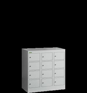 VBOX MB 3/12 MINI  12-priehradková nízka skriňa na úschovu cenností