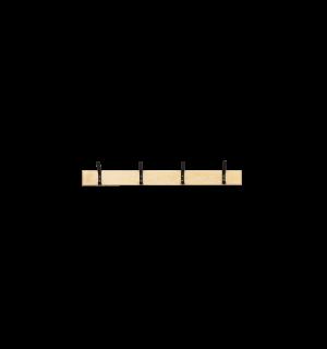 WALLHANGER LL 1000 | Nástenný vešiak so 4 háčikmi