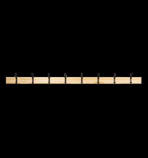 WALLHANGER LL 2000 | Nástenný vešiak so 8 háčikmi