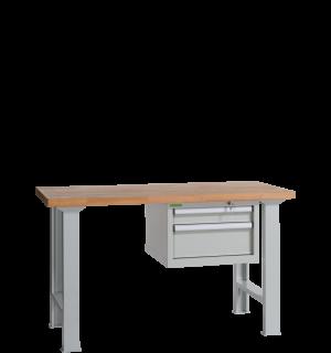 VWB PK 1500 D2   Pracovný stôl s dvomi zásuvkami