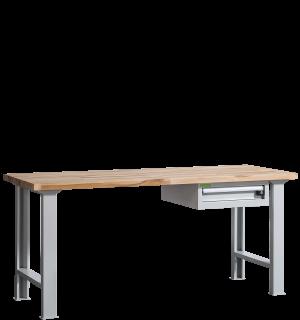 VWB PK 2000 D | Pracovný stôl so zásuvkou