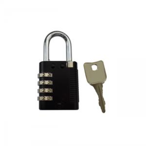 LOCK PAD CODE CENT   Visiaci zámok s číselným kódom a centrálnym kľúčom
