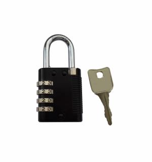 LOCK PAD CODE CENT | Visiaci zámok s číselným kódom a centrálnym kľúčom