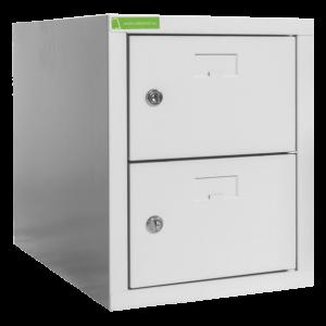 SHOEBOX H 1/2 400 | 1+1-dverová skriňa na obuv so šírkou priehradky 400 mm