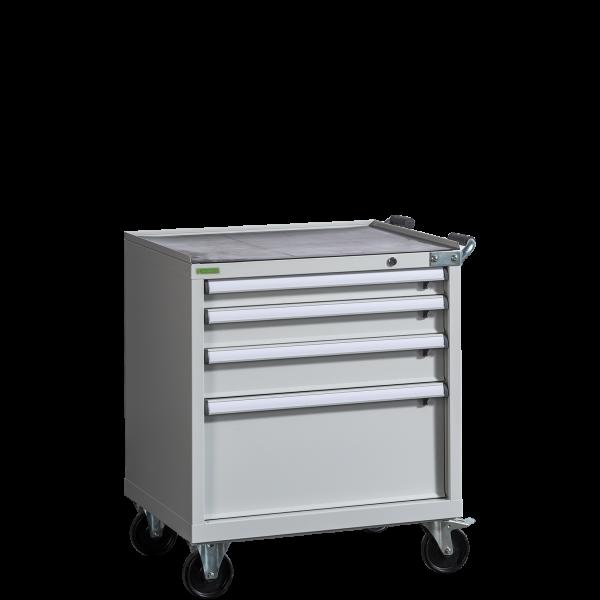CONTI ROLL PK 910/730 D4   Dielenský kontajner so 4 zásuvkami