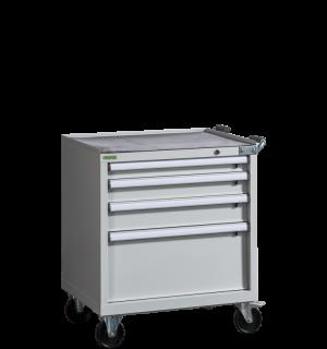 CONTI ROLL PK 910/730 D4 | Dielenský kontajner so 4 zásuvkami
