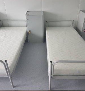 SLEEPI H 2000/900 GY | Skladacia kovová posteľ