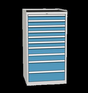CONTI K 1350/720/700 RS 10D 5012  | 10-zásuvkový dielenský kontajner s povrchom