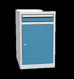 CONTIWB K 810/500/700 1D1C 5012  | Dielenský kontajner k pracovným stolom s 1 zásuvkou a so skrinkou