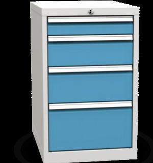 CONTI 810/4 Z | 4-zásuvkový dielenský kontajner k pracovným stolom