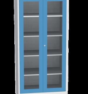 DEEPCAB K 2000/1000 PERFBACK G BE  | Dielenská skriňa s extra hĺbkou, presklenými dverami